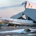 Wind Causes Hangar Collapse At Houston's Hobby Airport