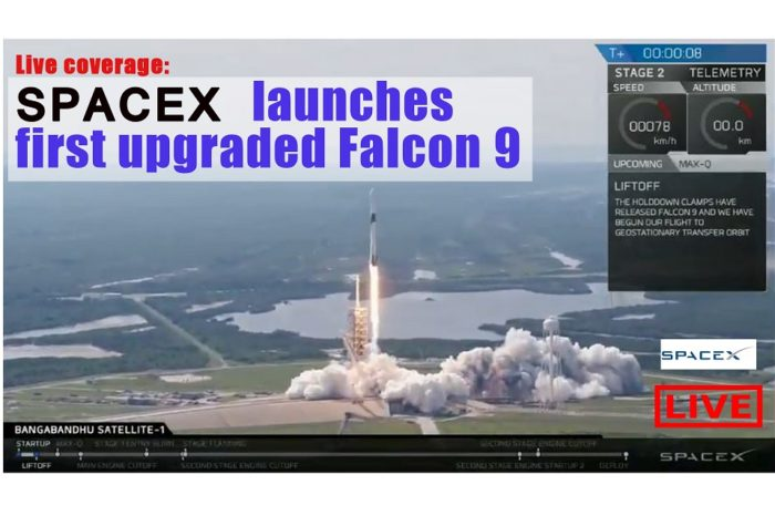 SpaceX launches new Falcon 9 Block 5 rocket I Live Streamed