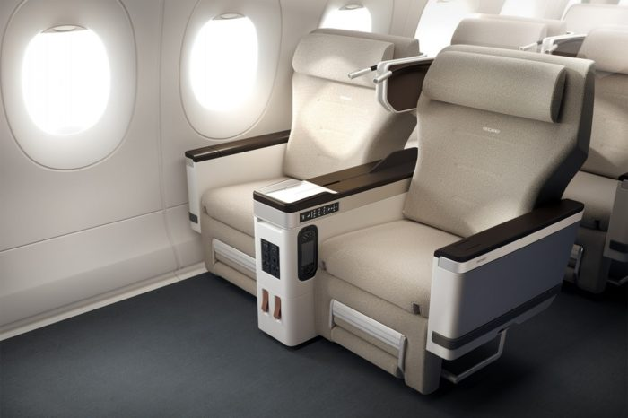 The Airline Seat of the Future Will Clean Itself