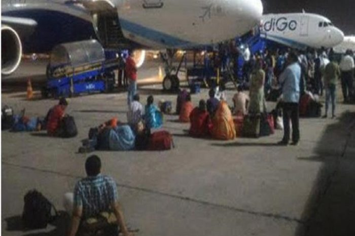 IndiGo passengers stranded on tarmac for 7 hours for non-availability of crew