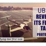 Uber reveals its flying taxi prototype for UberAir 2020 I UBER skyport