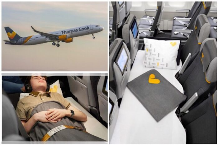 Thomas Cook Airlines launches Sleeper Seat