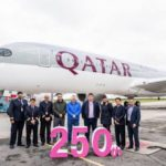 Qatar Airways Reaches Significant Milestone with Delivery of 250th Aircraft.