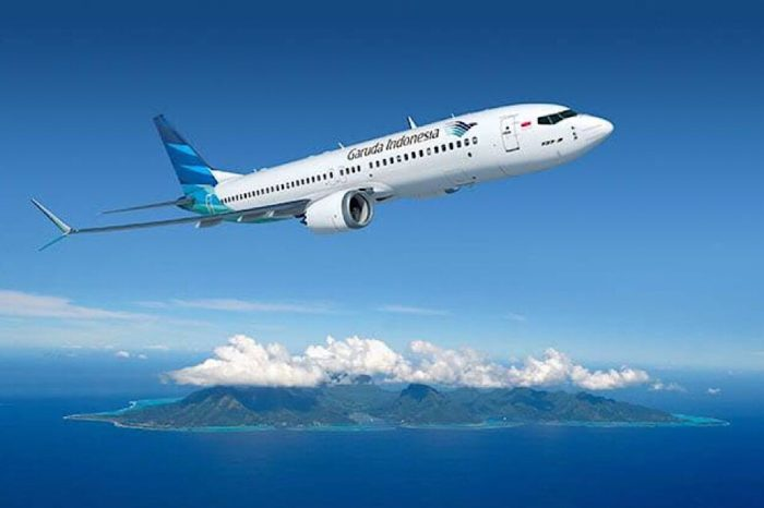Indonesia's Garuda canceling its order for 49 Boeing 737 Max jets