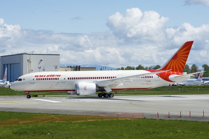 Air India flight returns to Delhi after cabin decompression at 20,000 feet, all 191 passengers safe