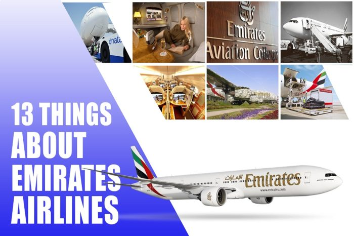 13 things you didn't know about Emirates airlines