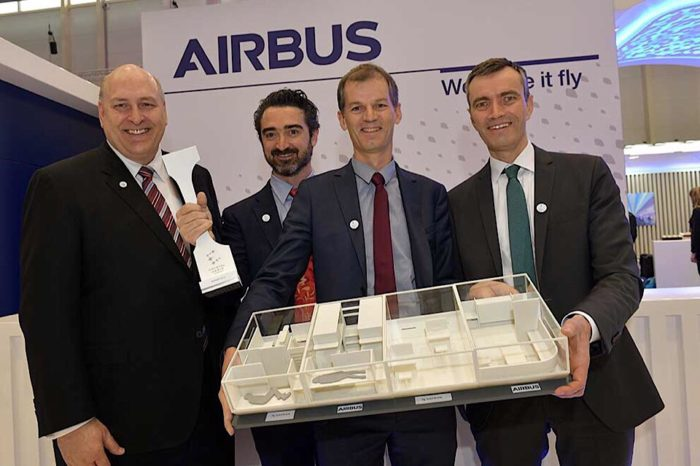 Airbus and Safran win Crystal Cabin Award with Lower Deck Pax Experience Modules